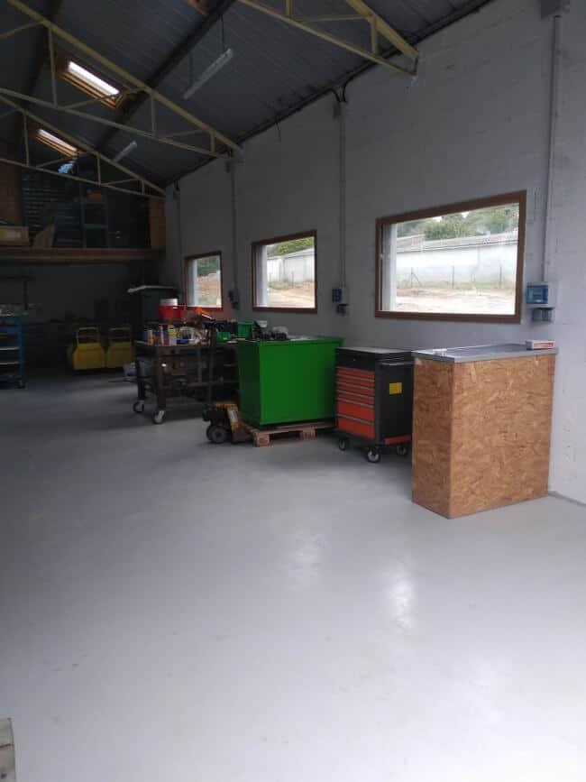 Bmr Services, Les Herbiers, bobinage de moteurs, maintenance industrielle, réparation : nos locaux aux Herbiers