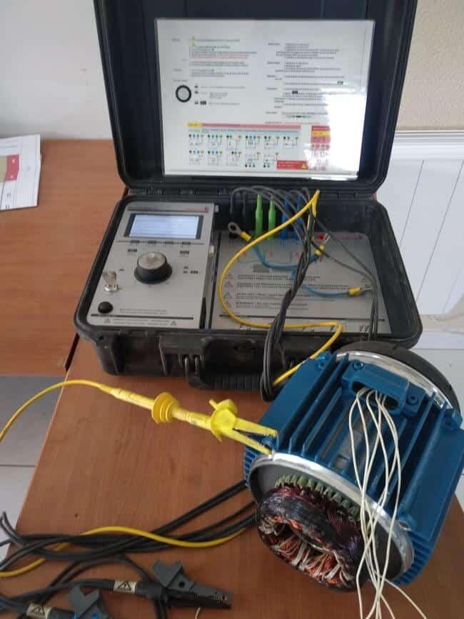 Réparation et révision de moteurs aux Herbiers, expertise en moteur électrique, Motor Analyser 2 (Schleich) :BMR Services 85500 Les Herbiers